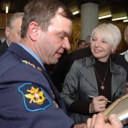 Выставка Anna Potri в Звездном городке, Россия 2008 г.