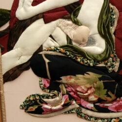 "Sudden Passion 7 For explanation of engravings Kacukava Syunsjo From ""Modern Erotic Games"" Album Author, author technique Anna Potri Неожидання страсть, лоскуты, вышивка"